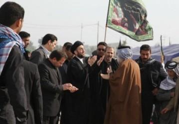 سید عمار حکیم در پیاده روی اربعین