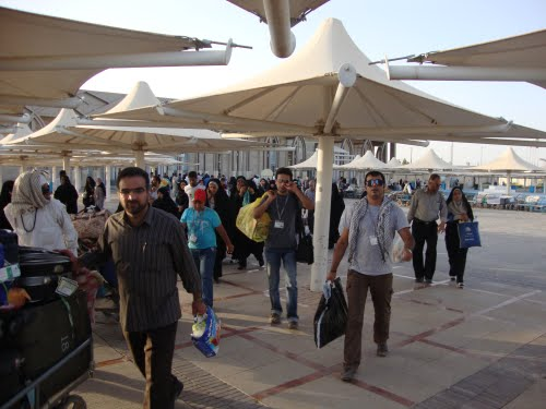 ادامه ی تردد انفرادی زائران از مرز مهران تا ششم دی ماه