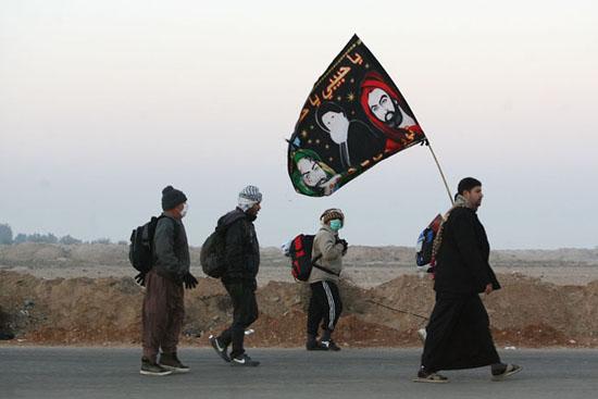 ارزش پیاده رفتن به زیارت حرم حسینی