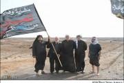 فیلم آغاز پیاده روی اربعین حسینی از شهر بصره