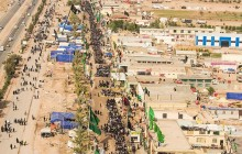 اقامه بزرگترین نماز جماعت در جهان در مسیری به طول 15 کیلومتر!!!