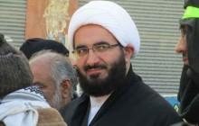 حجت الاسلام والمسلمین حاج علی اکبری در کربلای معلی