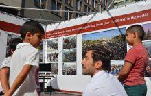 استقبال بینظیر مردم اروپا از برپایی نمایشگاه عکس و فیلم اربعین در هلند