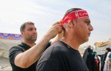 خروج زائران اربعین حسینی از مرز شلمچه + تصویر