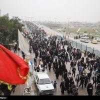 پیاده روی اربعین حسینی - تصاویر مسیر های منتهی به کربلا