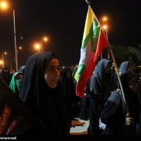 حضور زوار کشورهای مختلف در راهپیمایی اربعین تصویر: مهدی شامحمدی