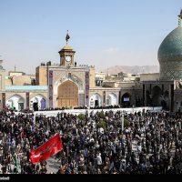 عزاداری اربعین حسینی در حرم عبدالعظیم حسنی (ع)