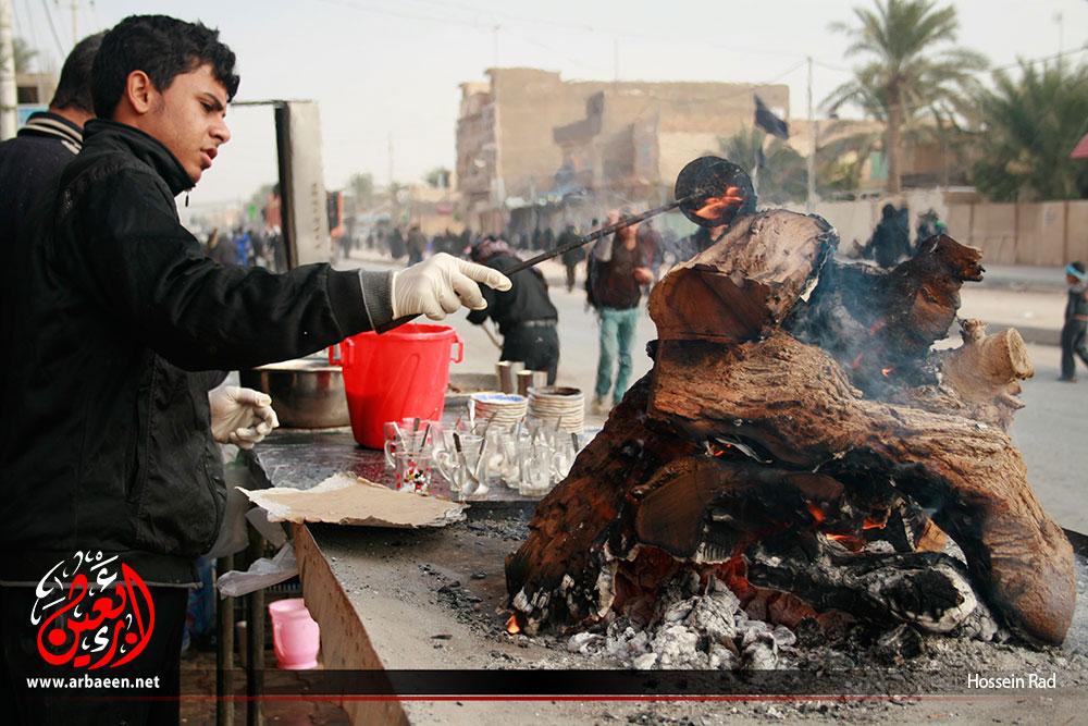 ظرفیت اسکان موکب احمد بن موسی (ع) بیش از ۱۲۰۰ نفر است؛ اطعام روزانه ۱۵۰۰۰ زائر