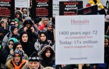 راهپيمایی جاماندگان اربعين در تورنتو کانادا
