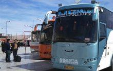 ۹۰ دستگاه اتوبوس در مرز شلمچه مستقر شد