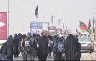 ازدحام زائران اربعین در مرز مهران